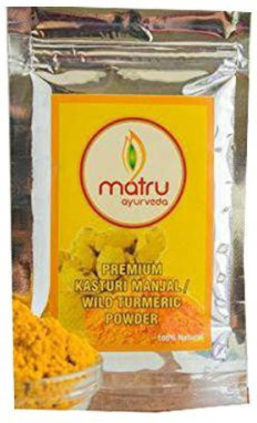 Matru 100% Natural Kasturi Manjal/Wild Turmeric Powder