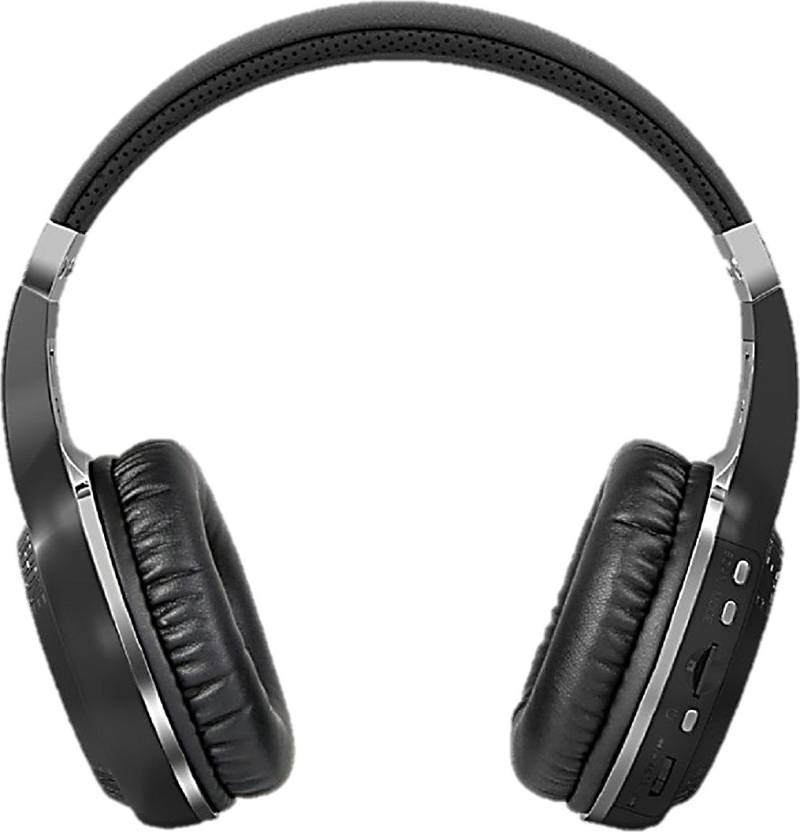 4fe5f0070ab SreeTeK Bluedio Wireless Bluetooth Headset H+ Turbine Mic,FM, SD Card  Bluetooth Headset with Mic (Black, Over the Ear)