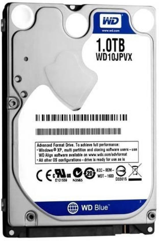 Western Digital WD 1 TB Laptop Internal Hard Disk Drive (WD10JPVX)
