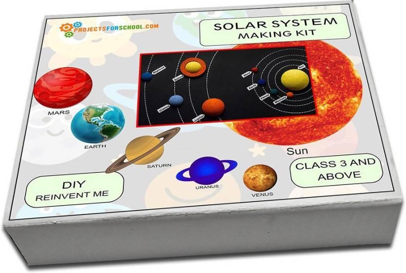 Projectsforschool Solar System Making Kit Model Building Diy