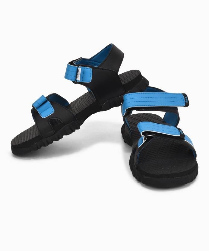 02427e5377654 Fila Men BLK RYL BLU Sports Sandals - Buy Fila Men BLK RYL BLU Sports  Sandals Online at Best Price - Shop Online for Footwears in India
