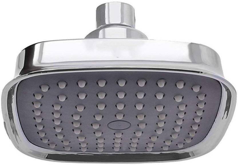 PESCA Ruby Plastic Silver, Chrome Finish 4 x 4 Inches Shower