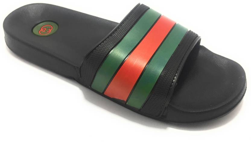bc19b57ad671 GUCCI FMSlGu0041 Slides - Buy GUCCI FMSlGu0041 Slides Online at Best Price  - Shop Online for Footwears in India