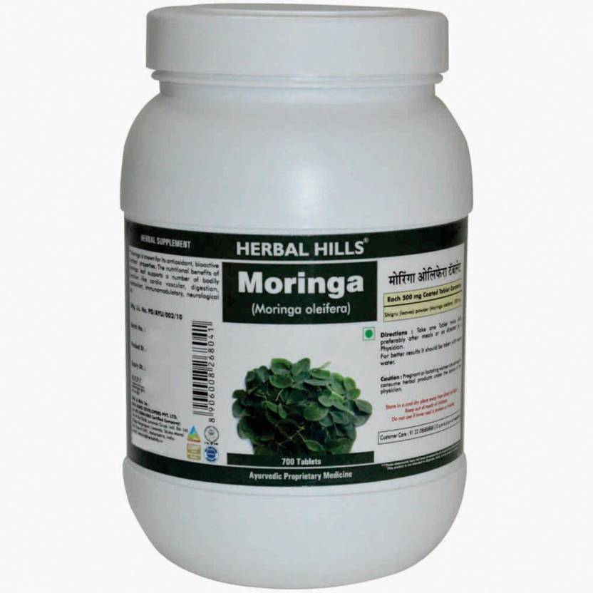 Herbal Hills Moringa - Value Pack 700 Tablets Price in India - Buy ... 43cef25a041