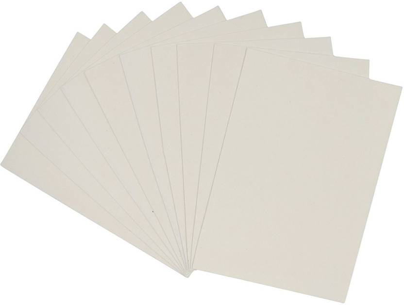 AsianHobbyCrafts A4 EVA Foam Sheet Thick Used for Scrapbooking