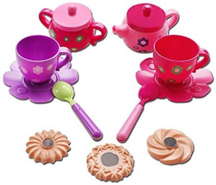 Genrc Marian Plastic Tea Sets For Girls Baby Tea Set Tea Party