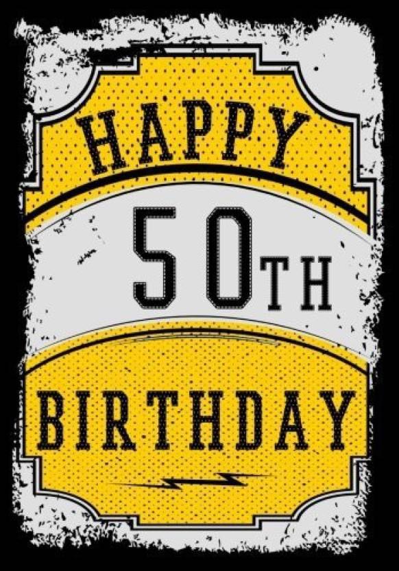 Happy 50th Birthday Birthday Gifts For Men Birthday Journal