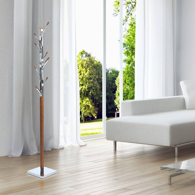 Home By Nilkamal Solid Wood Coat Stand Price In India Buy At Home By