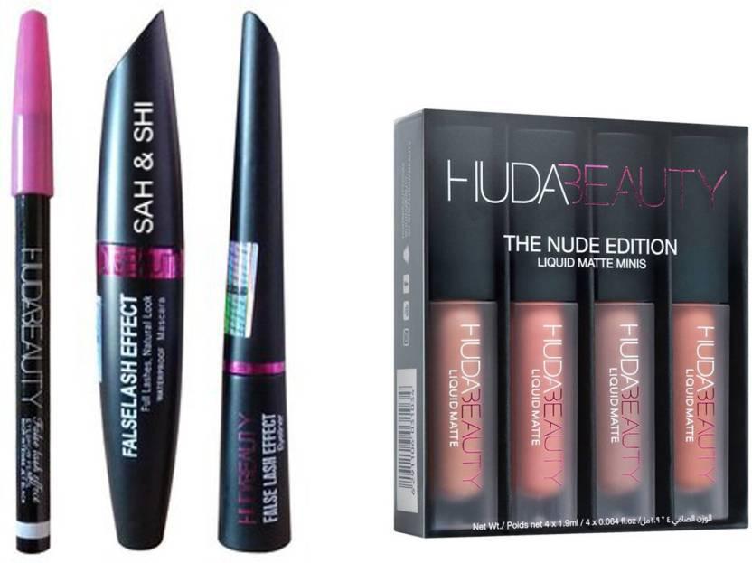 un milione Patate penisola  Sah&Shi Eyebrow Black Pencil With Huda Mascara & Huda Liquid ...