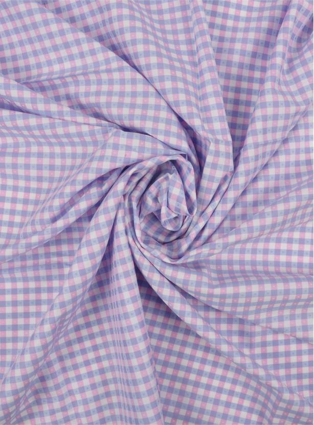 790adfeaca8 Raymond Giza Cotton Checkered Shirt Fabric Price in India - Buy ...