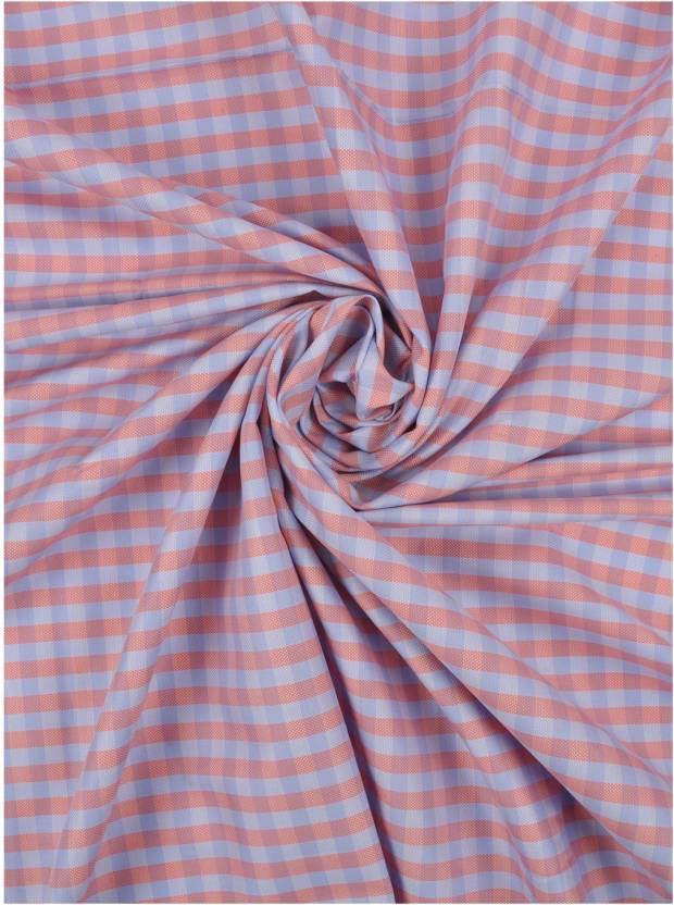 3ab1ff36c33 Raymond Cotton Checkered Shirt Fabric Price in India - Buy Raymond ...