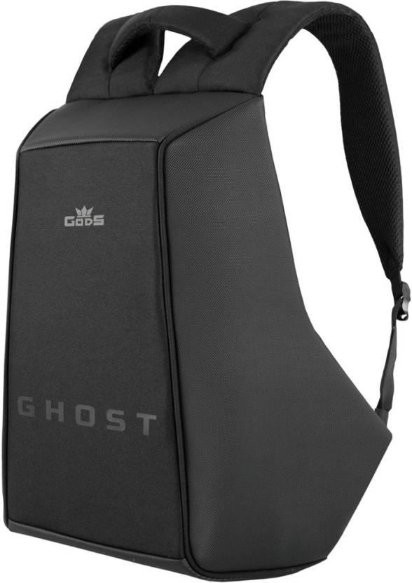 Gods 15.6 inch Laptop Backpack Black - Price in India  b4c21800e6e5c