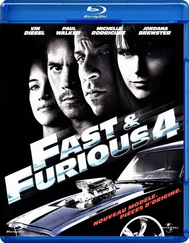 Fast & Furious 4 Blu-ray region free Price in India - Buy