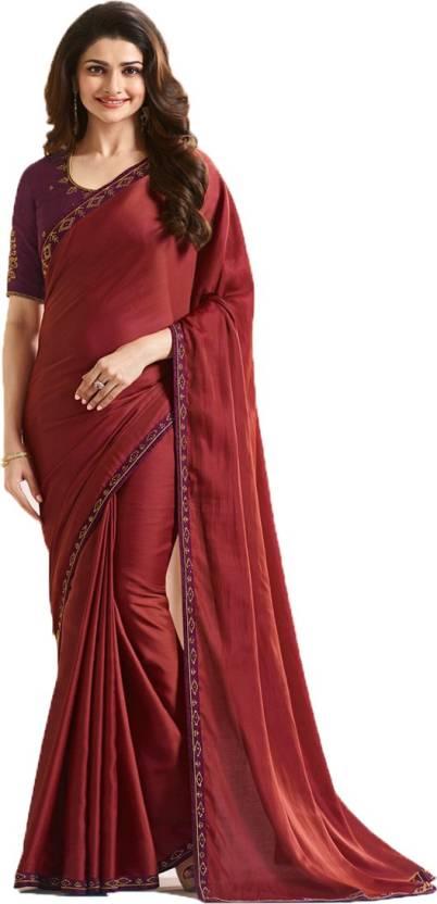 d70b2aaedb Buy Bombey Velvat Fab Self Design Daily Wear Silk Blue Sarees Online ...