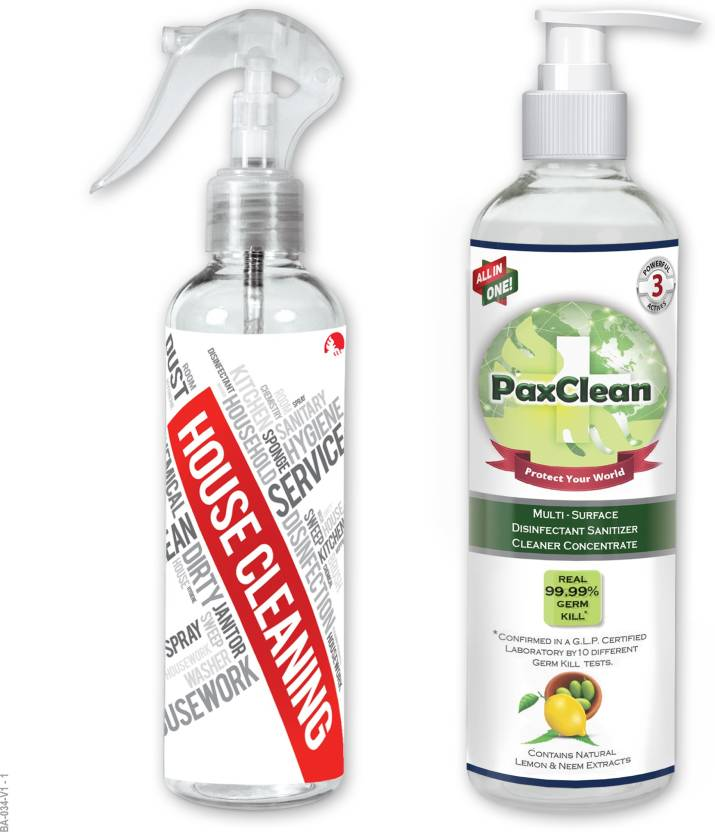 PaxClean All in One, Child Care, Baby Safe, Disinfectant