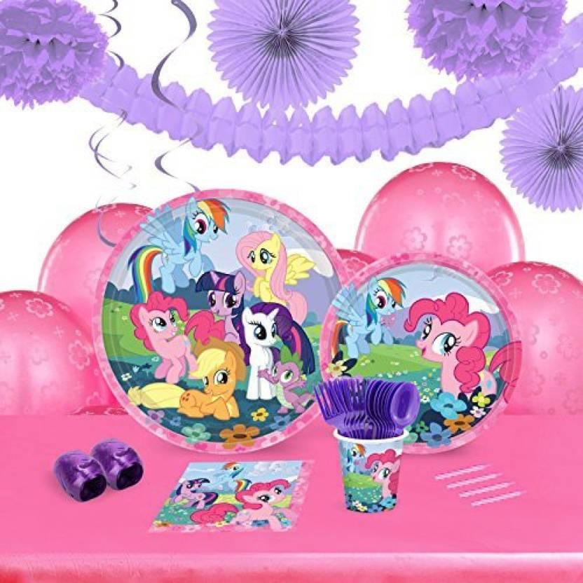 Birthday Express My Little Pony Friendship Magic Childrens Party Supplies