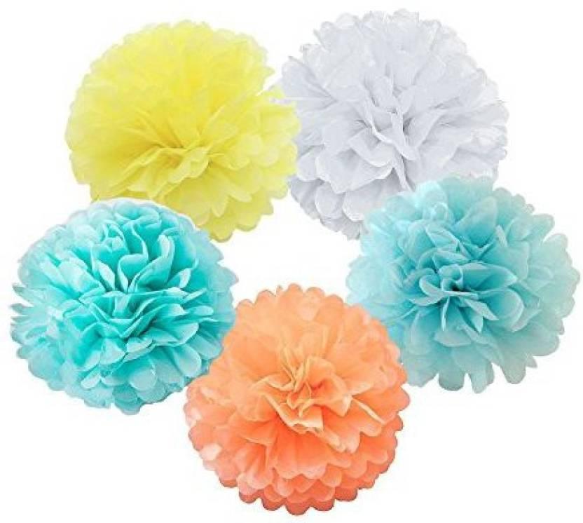 Xsunshine X Sunshine Tissue Paper Flower 10pcs 8 Inch 10 Inch With 5