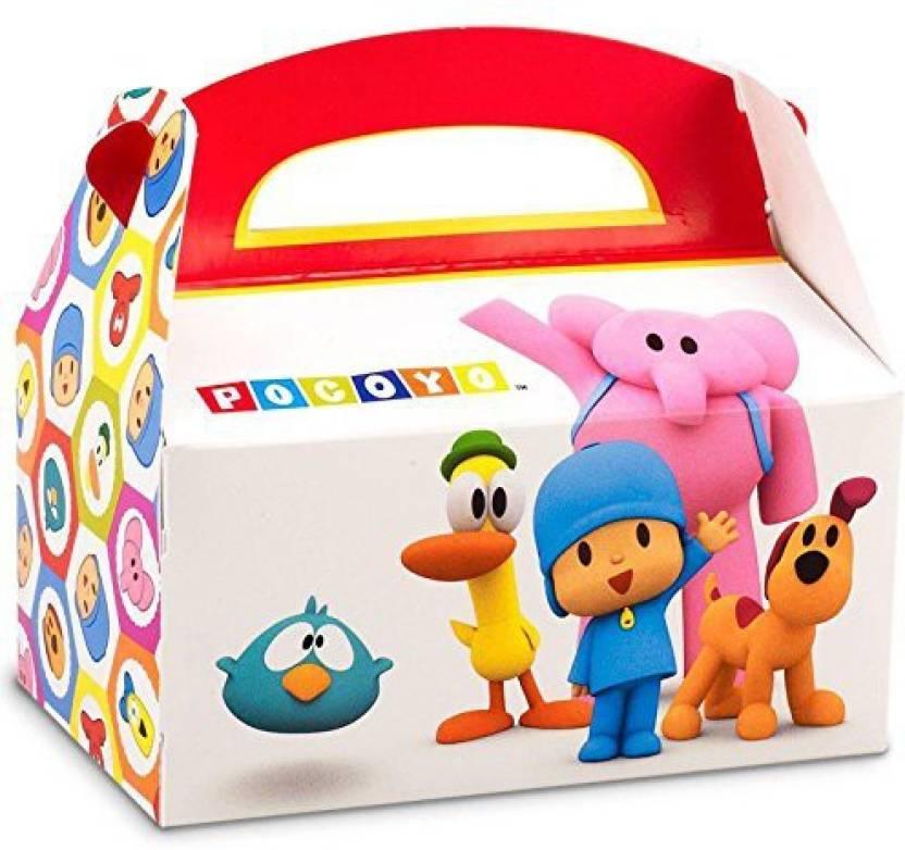 Pocoyo Party Supplies Empty Favor Boxes 4 Birthday Express Original Imaf9yq3zzwxgjyqjpegq70
