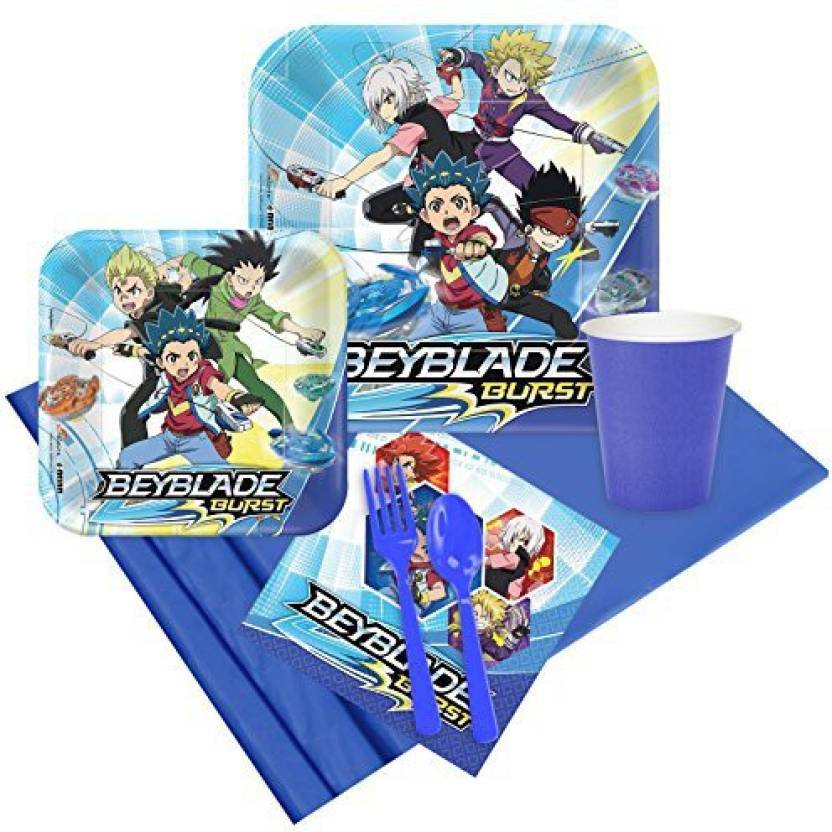 Birthday Express Beyblade Party Supplies Pack For 8