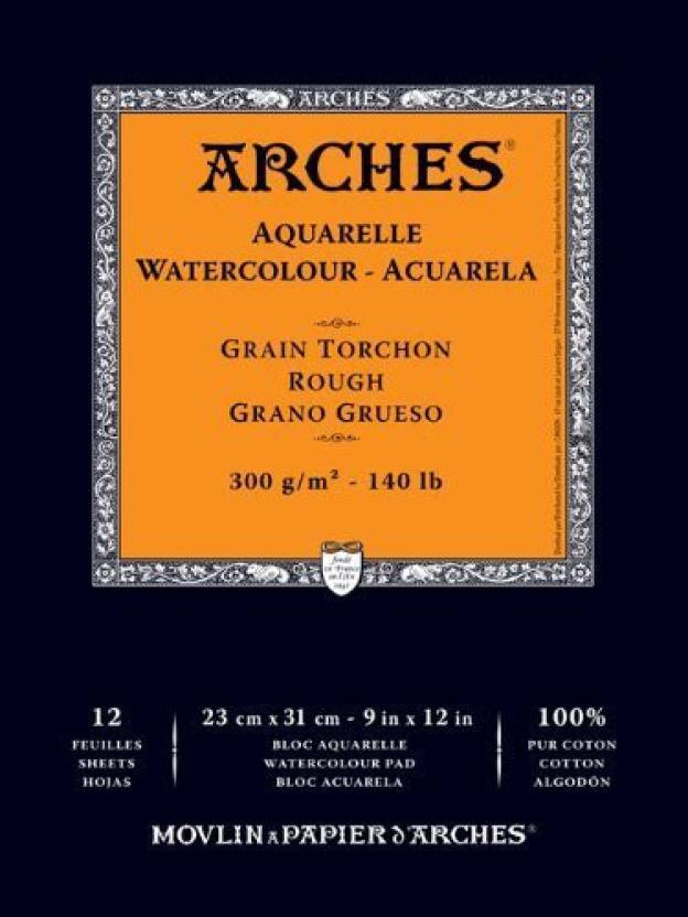 Winsor & Newton Arches Watercolor Hot Pressed Paper Pad 10
