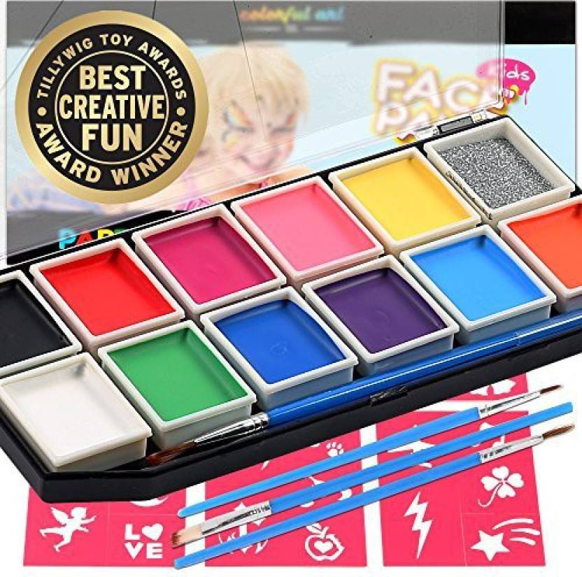 Colorful Art Co Face Paint Award Winning Professional 12