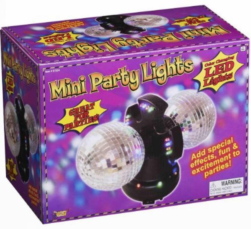 ead7c2ea64d Forum Novelties Color Changing LED Mirror Ball Mini Party Lights Disco  Party - Color Changing LED Mirror Ball Mini Party Lights Disco Party . shop  for Forum ...