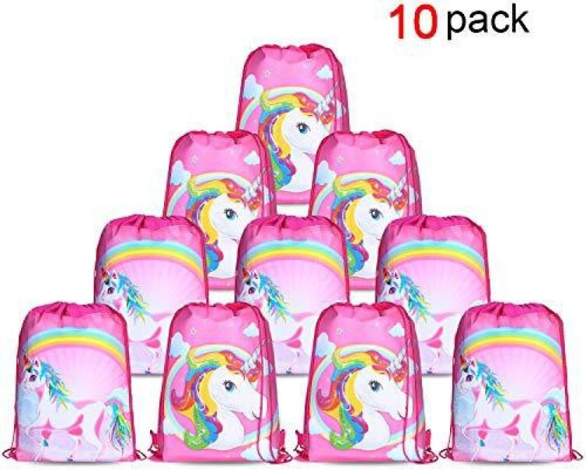 MY LITTLE PONY Loot Bags Girls Pink Birthday Party Supplies Job Lot