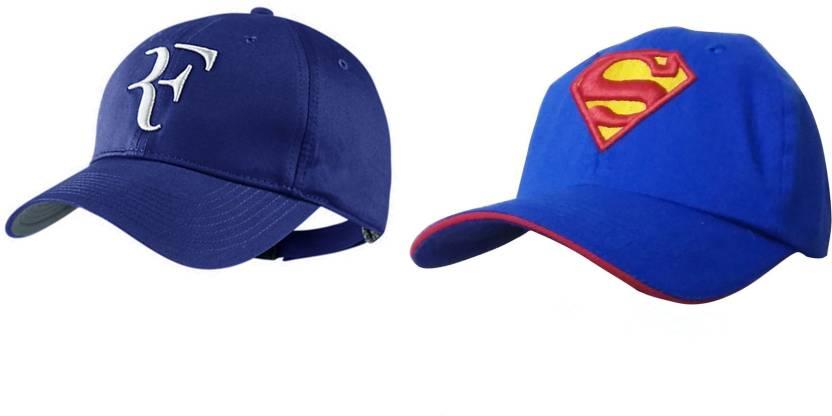 432e8e39f8 Bezal Combo Awesome Look Blue   Blue Cotton baseball Cap - Buy Bezal ...
