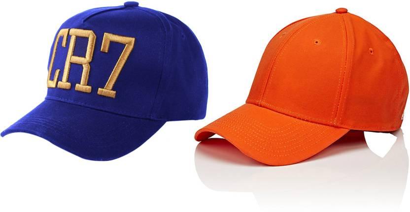 916d35559a Bezal Combo Awesome Blue   Orange Baseball Cap - Buy Bezal Combo ...