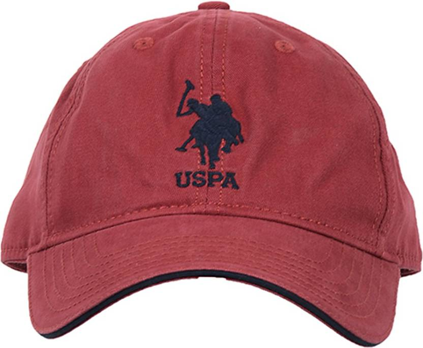 0cc54c49e4d U.S. Polo Assn Solid Six Panel Baseball Cap - Buy U.S. Polo Assn Solid Six  Panel Baseball Cap Online at Best Prices in India