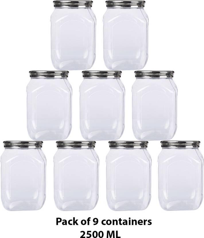 0501db0be Container Best Cook Kitchen Storage Plastic Container Set Of 9 - 2500 ml  Plastic Grocery Container, ...