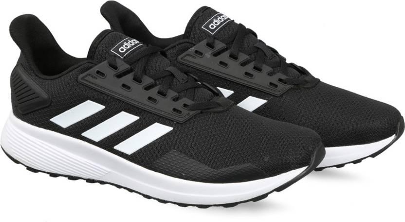 quality design 356f6 9f228 ADIDAS DURAMO 9 Running Shoes For Men (Black)