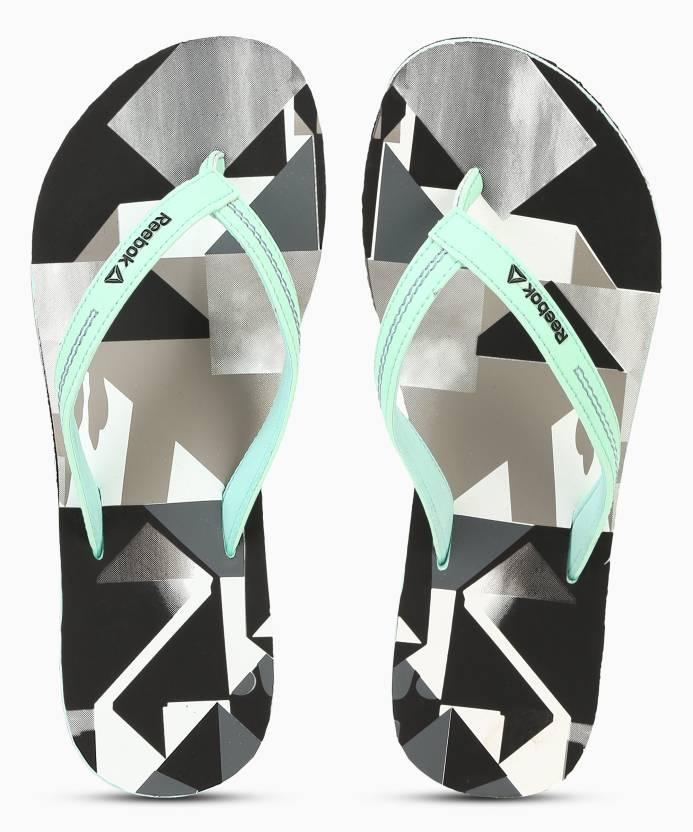 853222fbdf0a5 REEBOK CASH FLIP Flip Flops - Buy DIGITAL GREEN BLACK Color REEBOK CASH  FLIP Flip Flops Online at Best Price - Shop Online for Footwears in India  ...