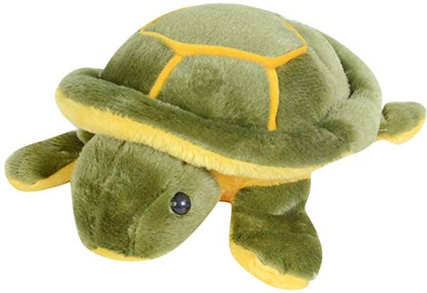 omex Stuffed Soft Cute Green TURTLE Plush Toy Female Birthday Gift - 30 cm