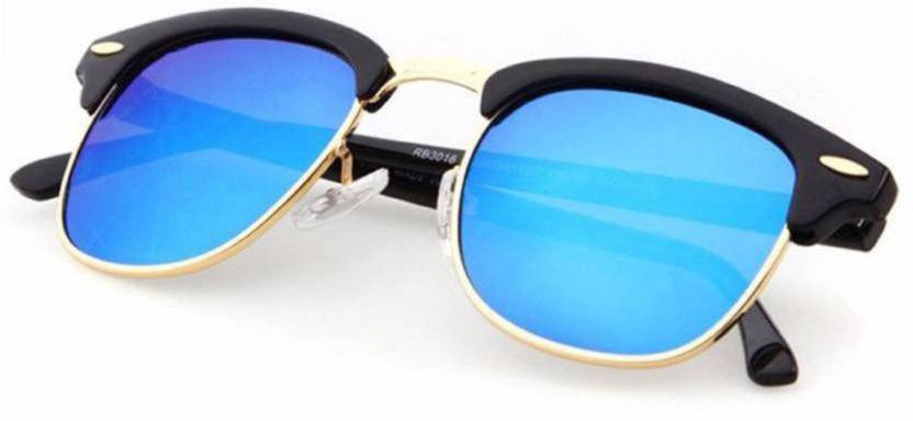 bee2ff357982c Buy Flynn Clubmaster Sunglasses Blue For Boys Online   Best Prices ...
