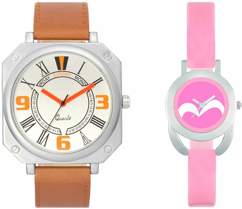 2eb60e24c278 DAMIT VL45-VT18 Brown-Pink Combo Watch - For Boys   Girls - Buy DAMIT  VL45-VT18 Brown-Pink Combo Watch - For Boys   Girls VL45-VT18 Brown-Pink  Online at ...