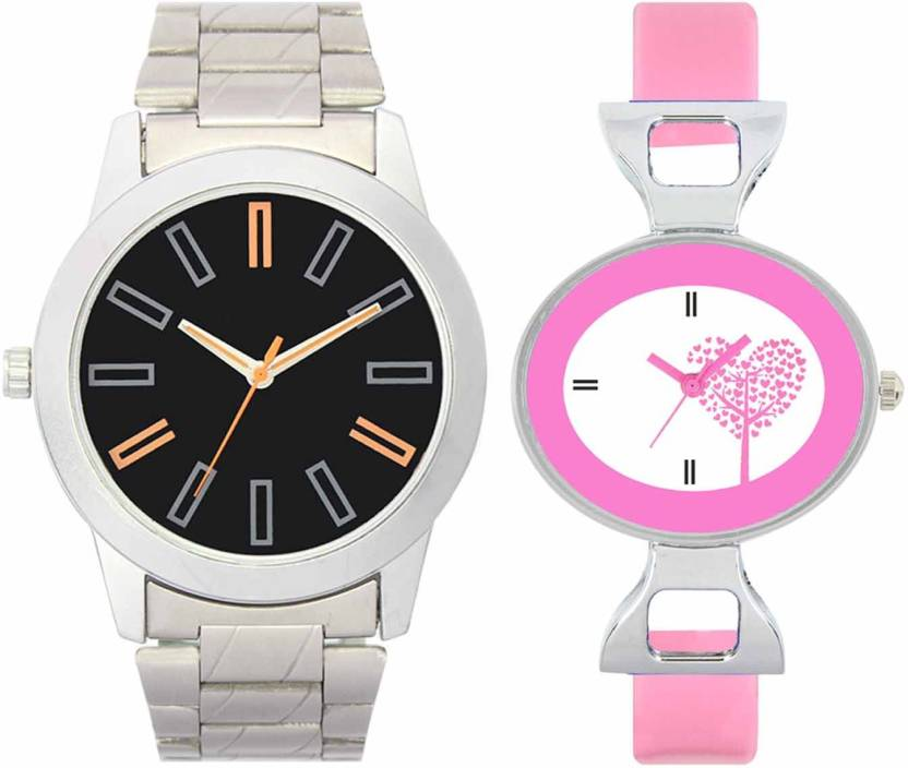 3a3a01afb79c DAMIT VL01-VT30 Silver-Pink Combo Watch - For Boys   Girls - Buy ...