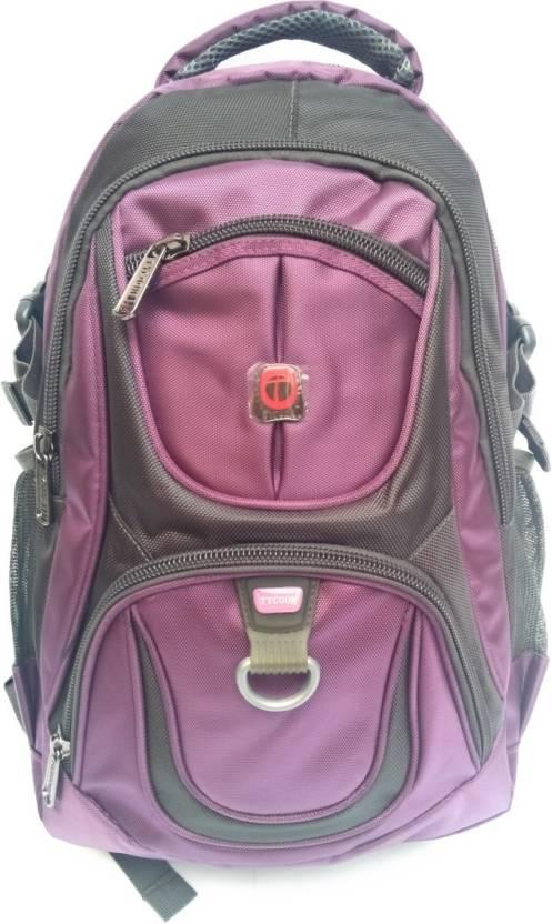 Tycoon  20L Backpacks, school bag [ Medium ] 20 L Backpack Purple