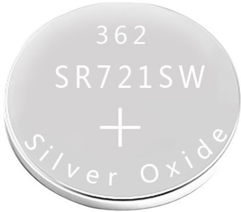 Vgs Marketings Sr721sw 362 1 55v Silver Oxide Button Cell For