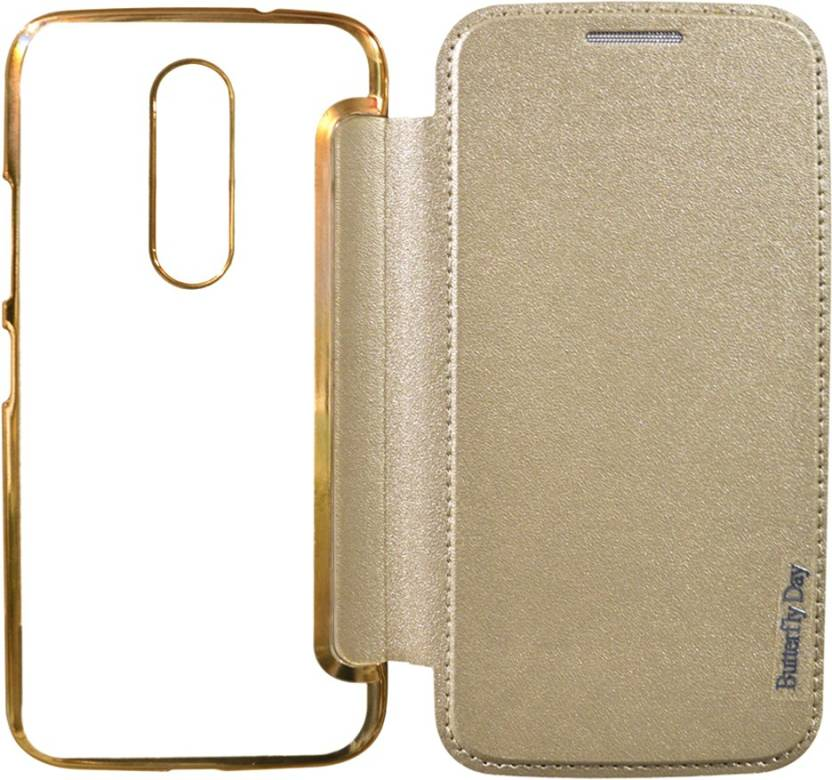 COVERNEW Flip Cover for Motorola Moto M - XT1663 - COVERNEW