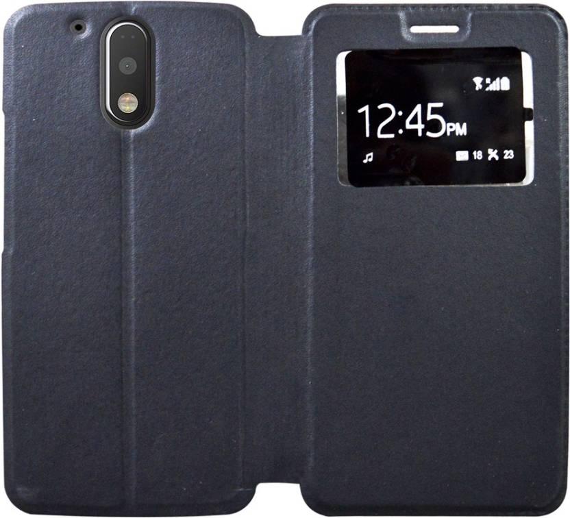 finest selection b6f94 ce18b Coverage Flip Cover for Motorola Moto G4 Plus - XT1643 - Coverage ...