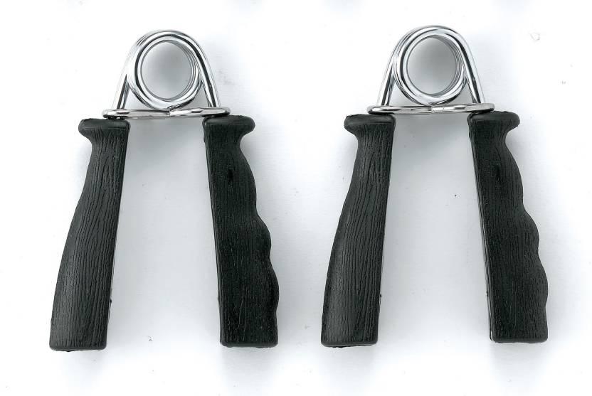 Body Sculpture Hollow BB 901 B Hand Grip/Fitness Grip Black, Silver Body Sculpture Hand Grips