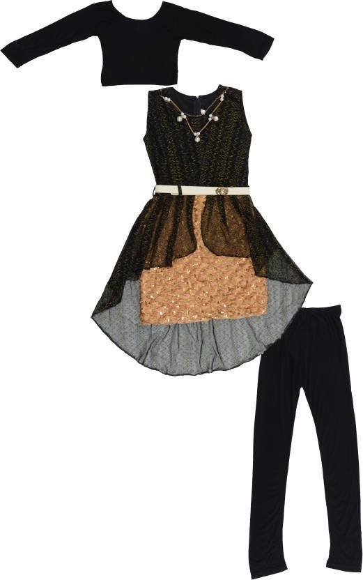 c454ba349 Sunshine Girls Party(Festive) Dress Top, Pyjama Price in India - Buy ...