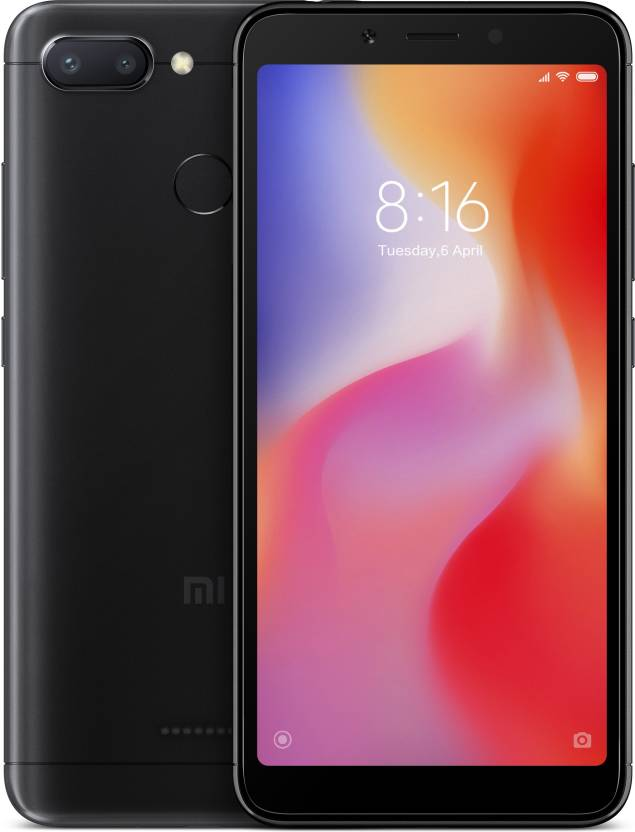 Redmi 6 (Black, 32 GB)