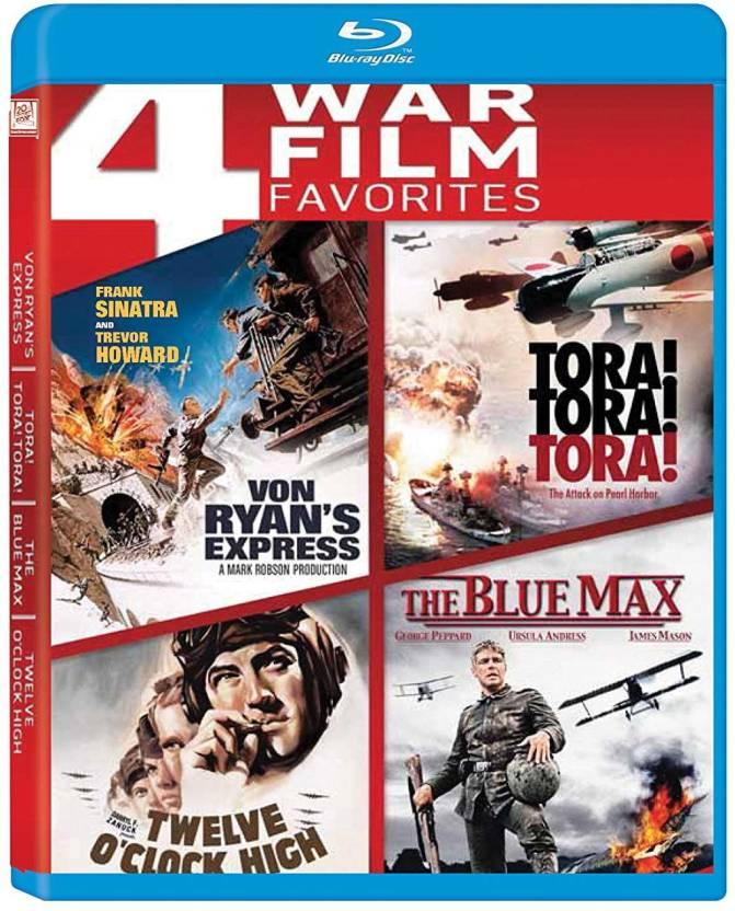 War Films 4 Movies Collection: Von Ryan's Express + Tora