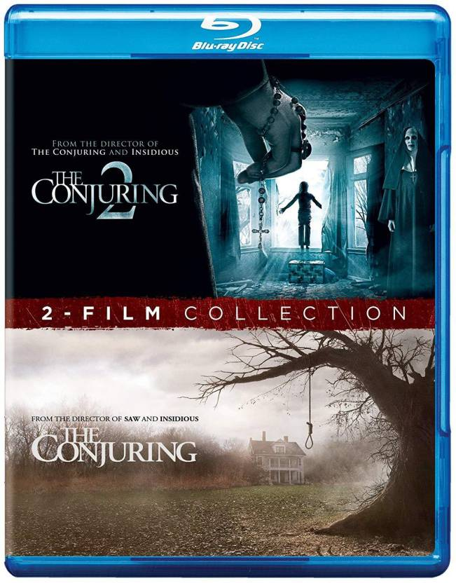 2 Horror Movies Collection The Conjuring The Conjuring 2 2 Disc