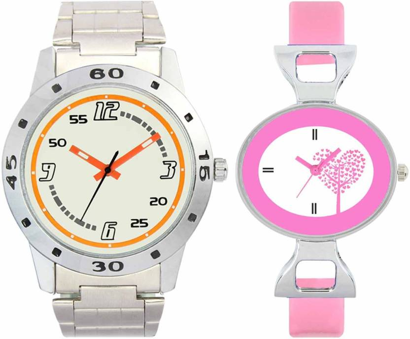f82ac1439e7f DAMIT VL04-VT30 Silver-Pink Combo Watch - For Boys   Girls - Buy DAMIT  VL04-VT30 Silver-Pink Combo Watch - For Boys   Girls VL04-VT30 Silver-Pink  Online at ...