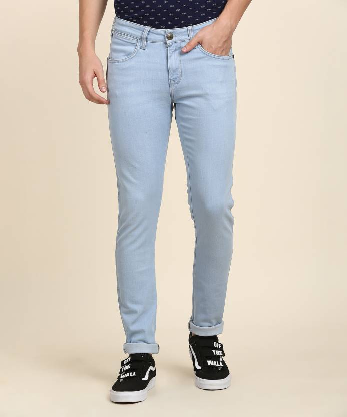 52b56179 Wrangler Skinny Men's Light Blue Jeans - Buy Wrangler Skinny Men's ...