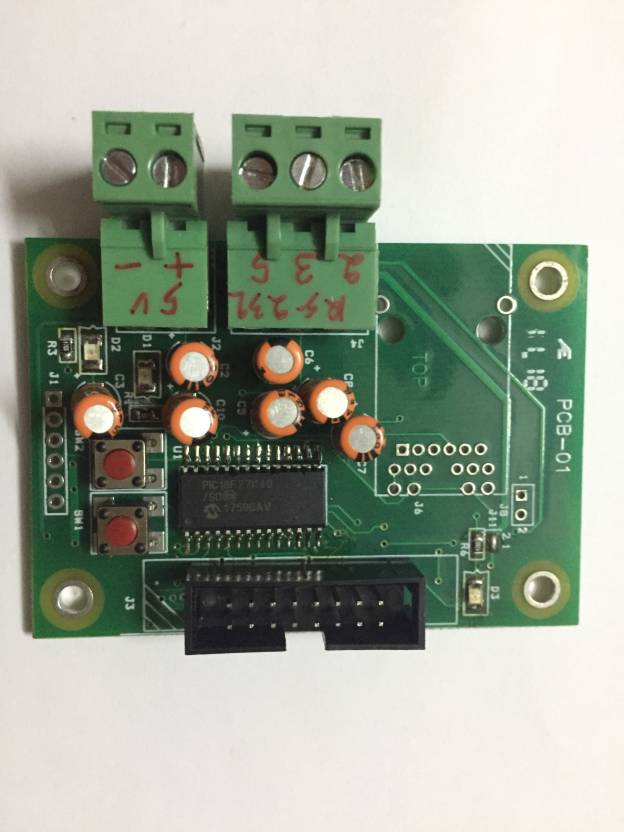 Apsys Assembled Single Sided Printed Circuit Board Pack of 1
