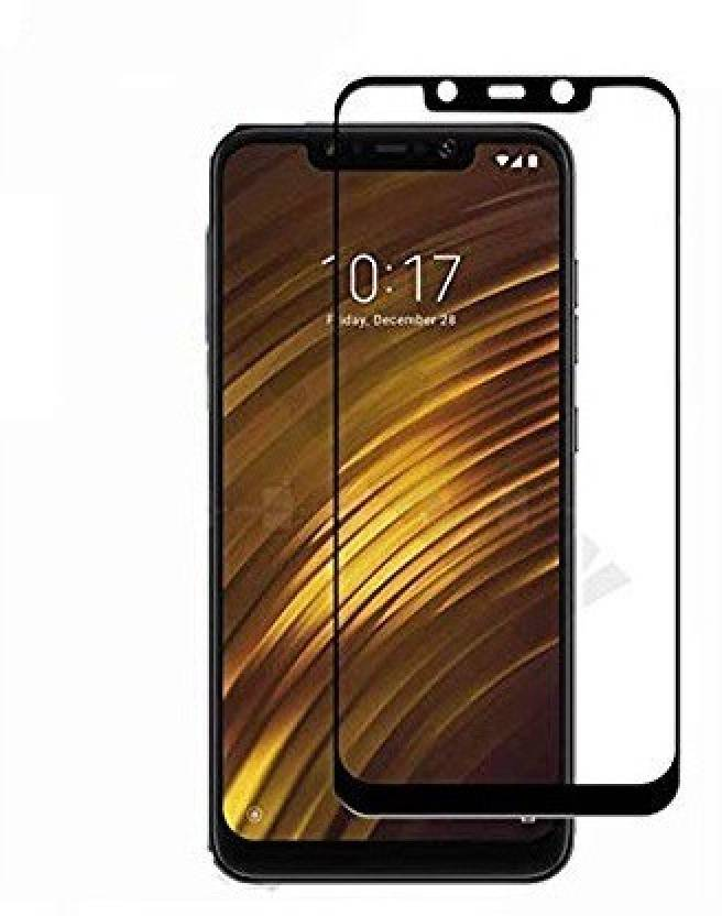 Midkart Edge To Edge Tempered Glass for POCO F1